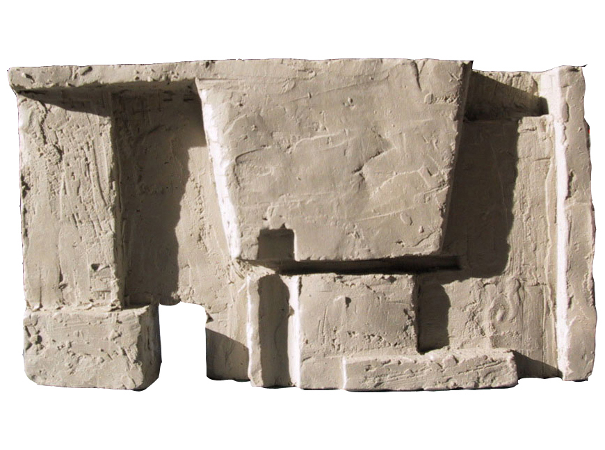 Clay model new wall